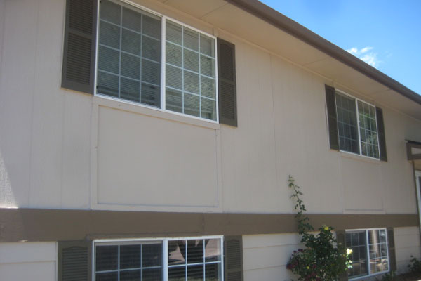 Painted Exterior Multifamily Building
